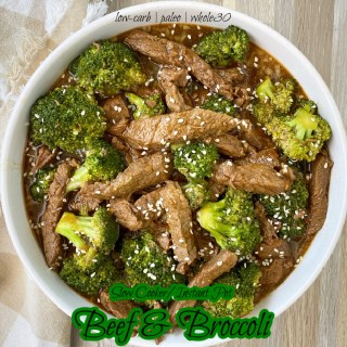 cover pic for Slow Cooker Instant Pot Beef & Broccoli (Low-Carb, Paleo, Whole30)