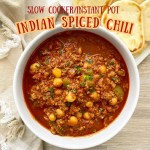 cover pic for {VIDEO} Slow CookearInstant Pot Indian Spiced Chili (Paleo, Whole30)