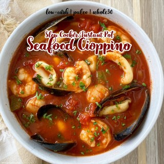 cover Slow CookerInstant Pot Seafood Cioppino (Low-Carb, Paleo, Whole30 (1)