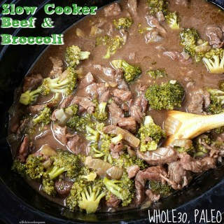 Slow Cooker Beef & Broccoli (Whole30, Paleo)