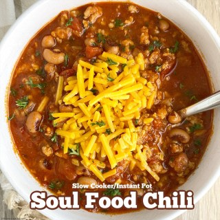 cover pic for Slow CookerInstant Pot Soul Food Chili
