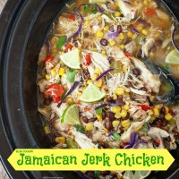 Slow Cooker Jamaican Jerk Chicken