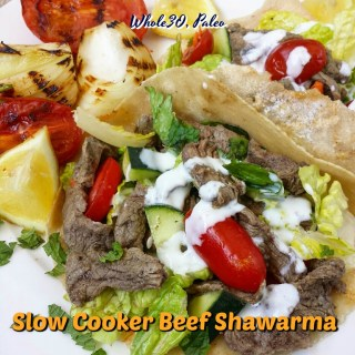 Slow Cooker Beef Shawarma (Whole30, Paleo)