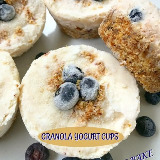 No Bake Granola Yogurt Cups