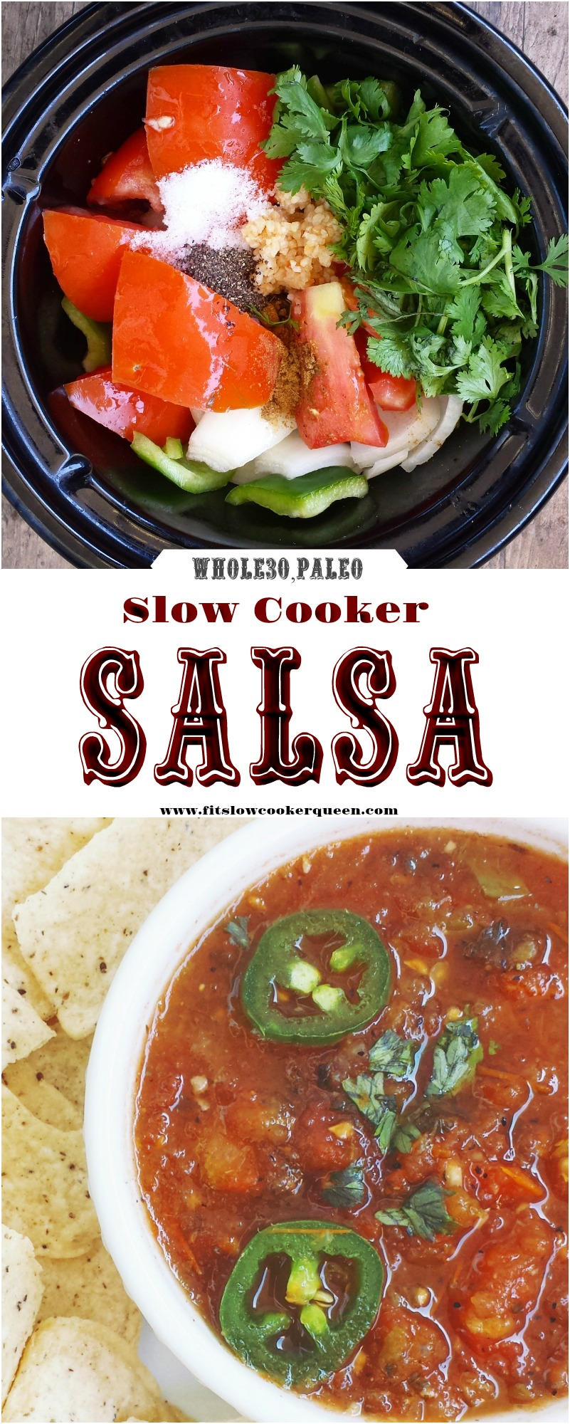 This salsa recipe is so easy & good you might never buy store-bought again. Using fresh ingredients, you'll have restaurant-style made in your slow cooker.