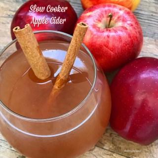 Slow Cooker Apple Cider (Paleo)