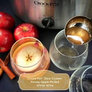 Crock-Pot® Slow Cooker Honey-Apple Mulled White Wine