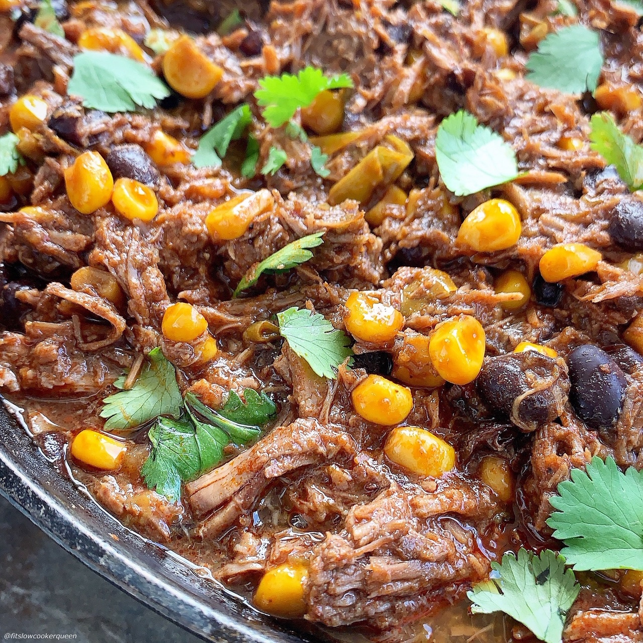 This Mexican-flavored beef will turn your next family dinner into a fiesta! Cooked in the slow cooker or pressure cooker, you can use this flavorful & versatile beef in a variety of recipes.