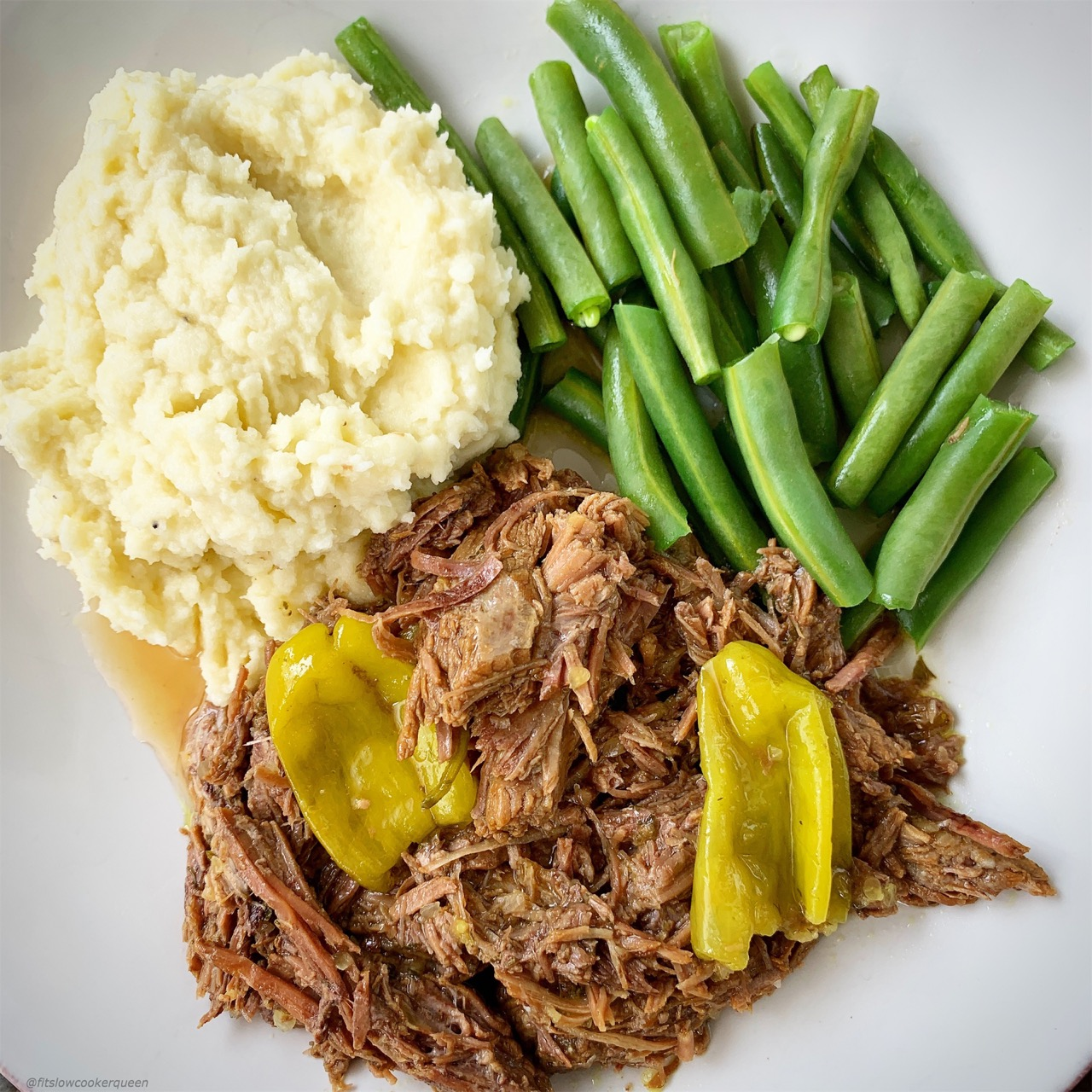 This cleaned up version of Mississippi roast low-carb, paleo, and whole30 but not lacking the flavor that made this recipe popular in the first place.