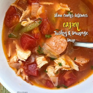 The holidays bring many things - lots of leftover turkey being one of them. This easy and healthy slow cooker recipe transforms leftover turkey into a flavorful Cajun soup.