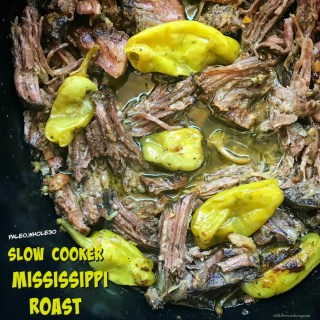 Slow Cooker Mississippi Roast (Paleo,Whole30)
