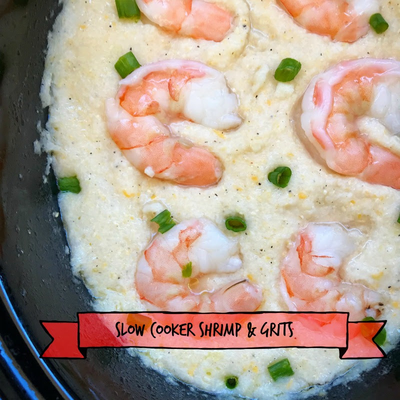 Shrimp & grits are a classic comfort food. Making this southern dish in your slow cooker produces creamy grits with minimal effort.