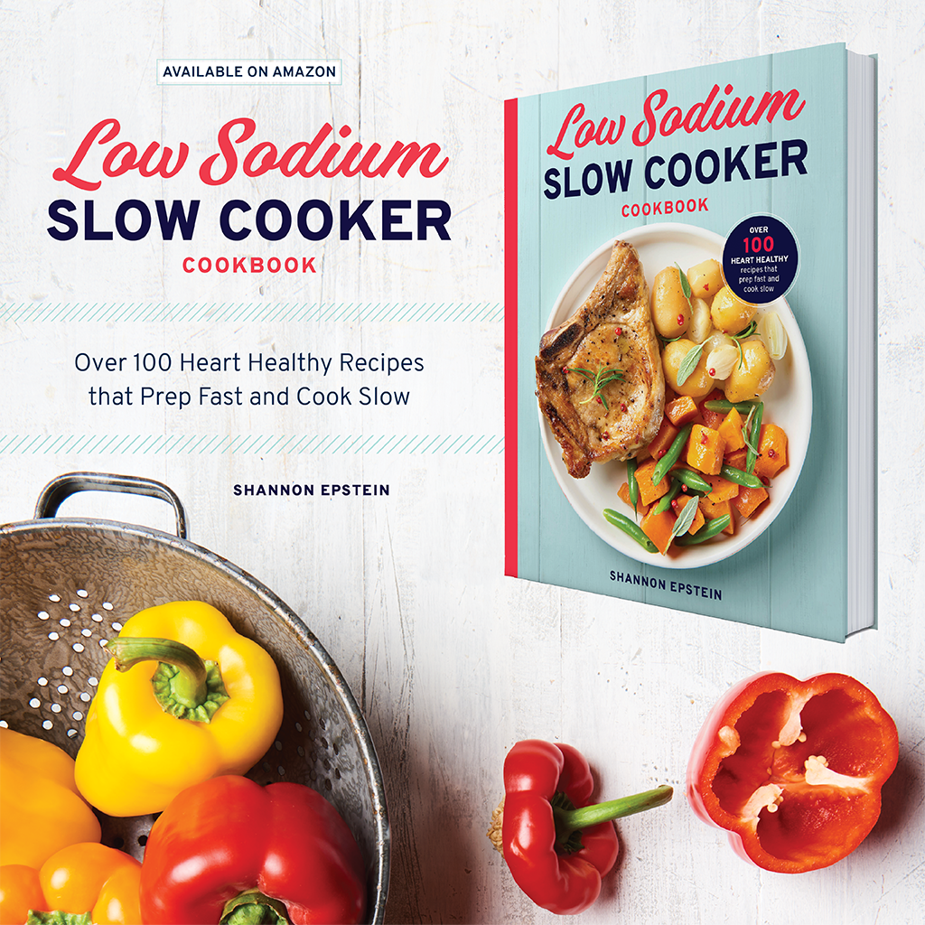 The Low-Sodium Slow Cooker Cookbookmakes it easy to enjoy time-saving meals that are high on flavor but low in sodium. With 100 recipes that require only 30 minutes or less to prep,The Low-Sodium Slow Cooker Cookbookis your best reference to prep, set, and forget about bland recipes on a low-sodium diet.