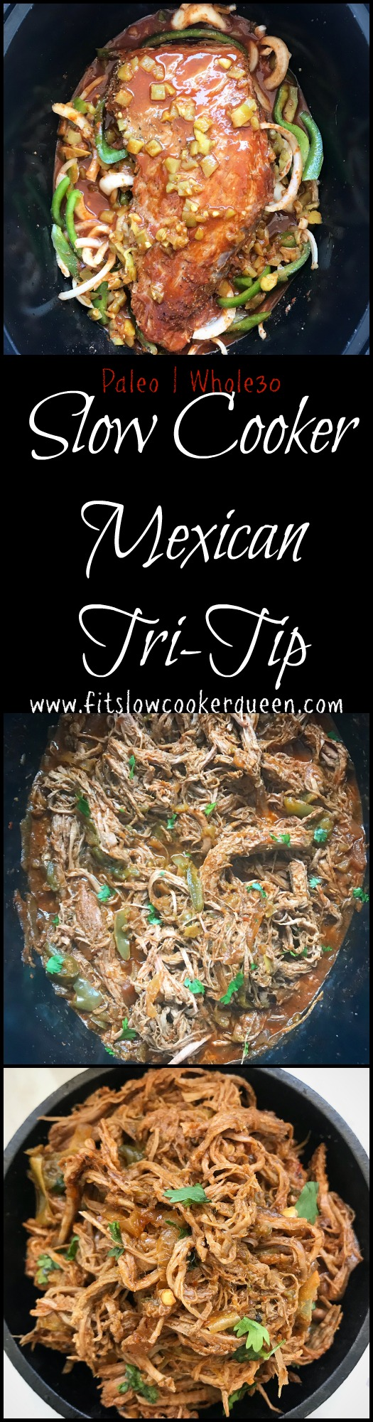 Slow Cooker Mexican Tri-Tip