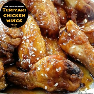 Slow Cooker/Instant Pot Teriyaki Chicken Wings (Low-Carb, Paleo, Whole30)