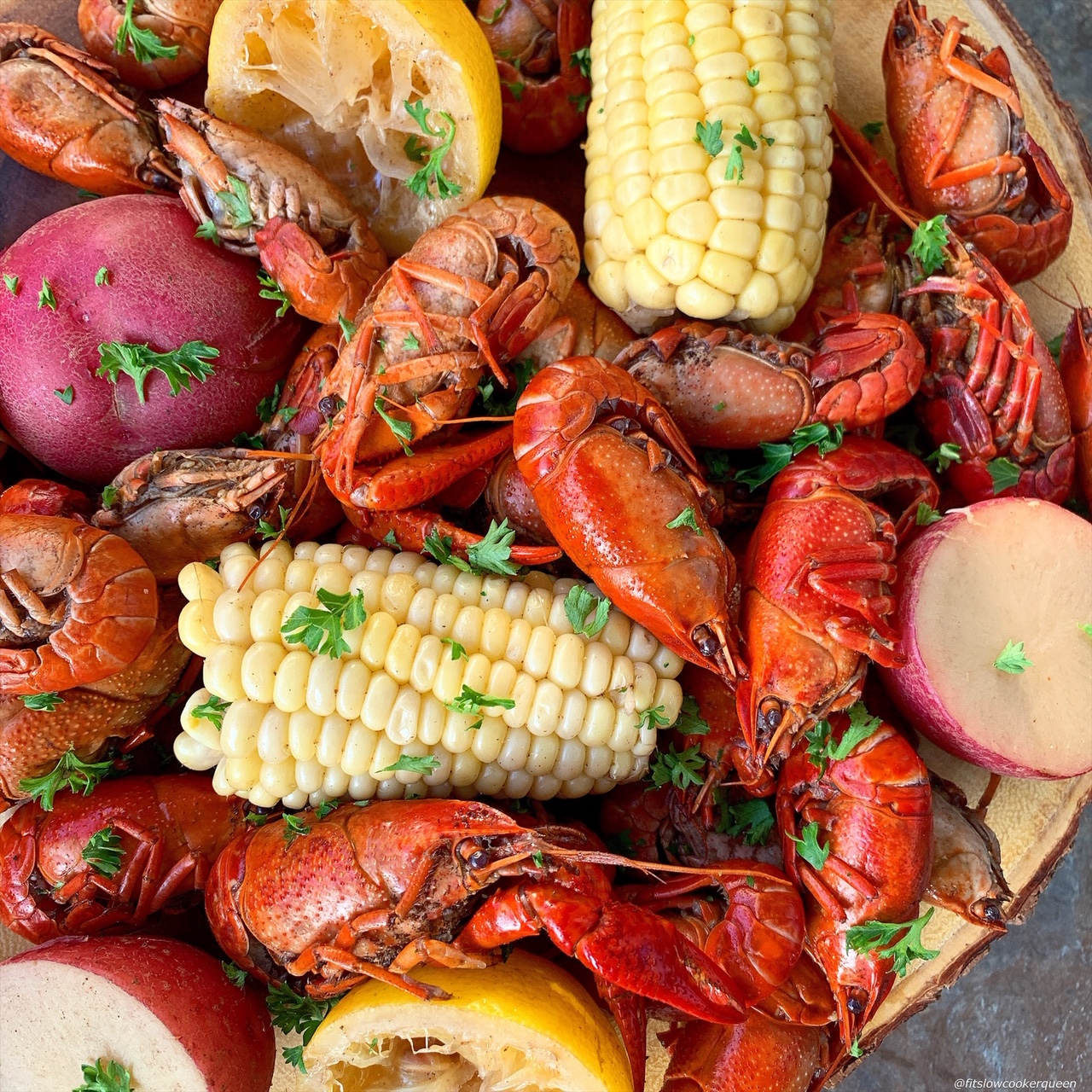 Channel your inner Cajun with this easy crawfish boil. Make this southern dish in your slow cooker for a simple yet flavorful Cajun meal.