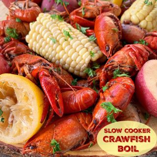 Slow Cooker Crawfish Boil