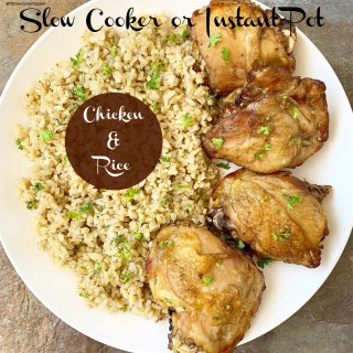 {VIDEO} Slow CookerInstant Pot Chicken & Rice (5)