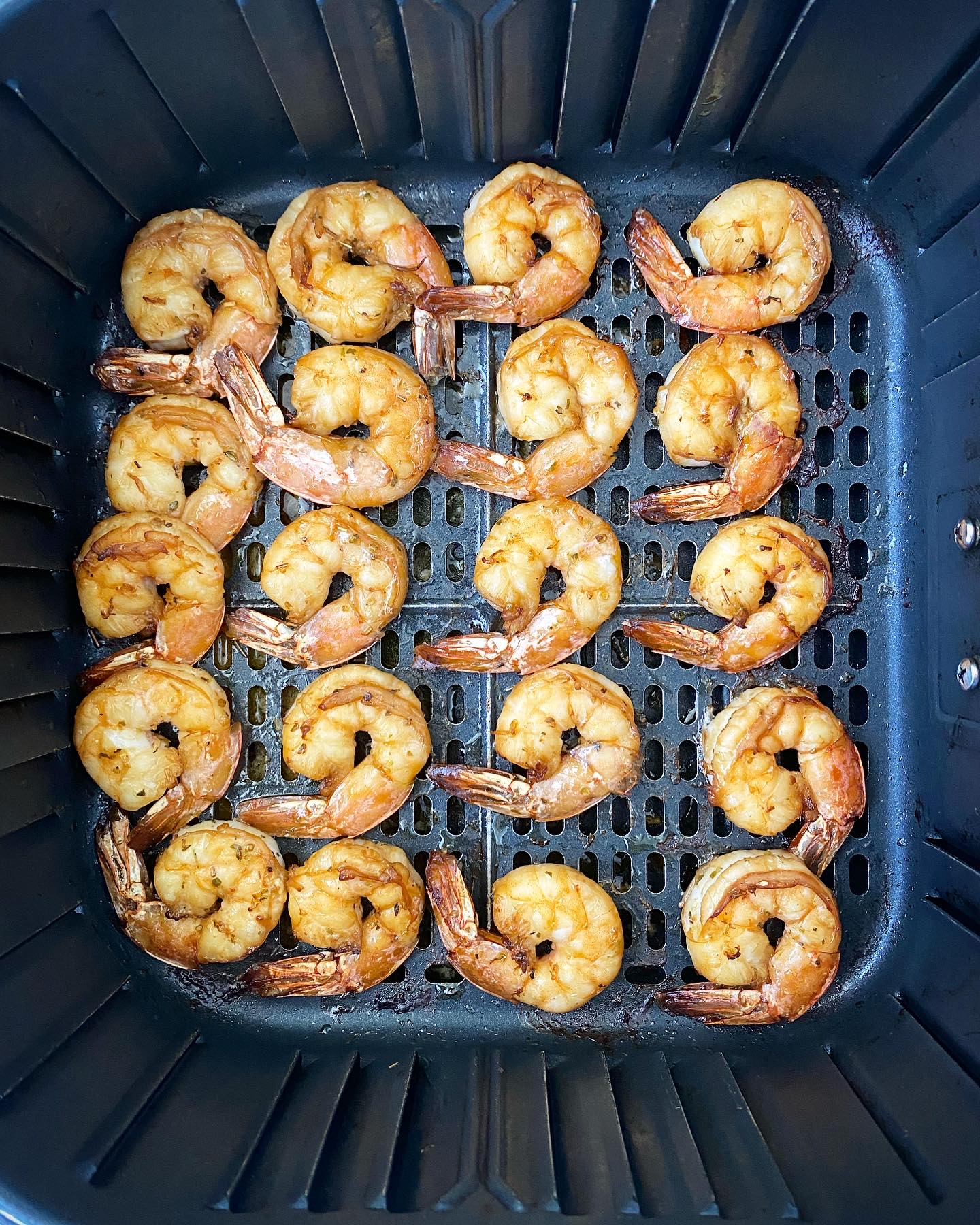 Air Fryer Shrimp (Low-Carb, Paleo, Whole30)