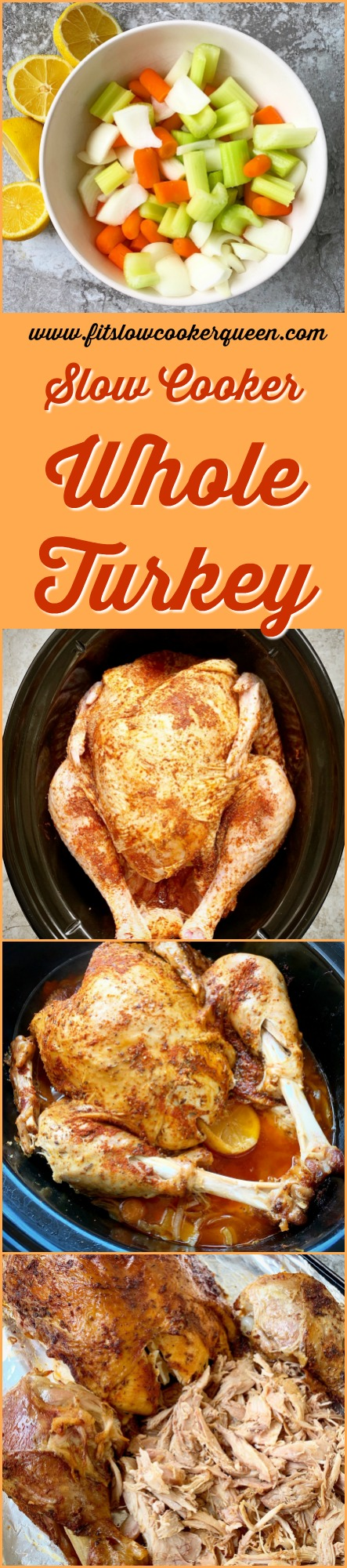 pinterest pin for slow cooker whole turkey