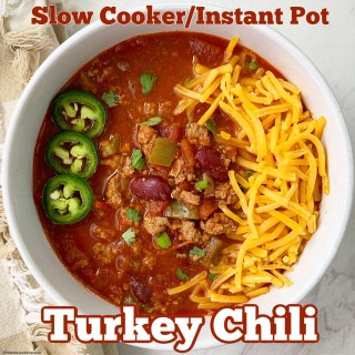 cover pic for {VIDEO} The Best Turkey Chili Recipe (Slow CookerInstant Pot)