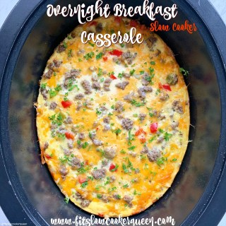 cover pic for {VIDEO} Slow Cooker Overnight Breakfast Casserole (7)