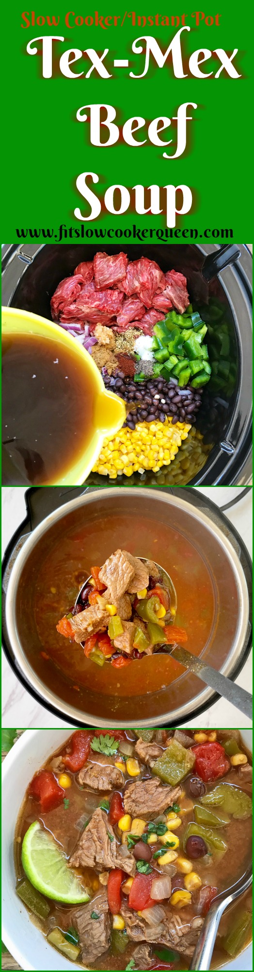 another pinterest pin for pin2 {VIDEO} Cooker_Instant Pot Tex-Mex Beef Soup