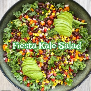 cover pic for {VIDEO} Fiesta Kale Salad (Vegan)