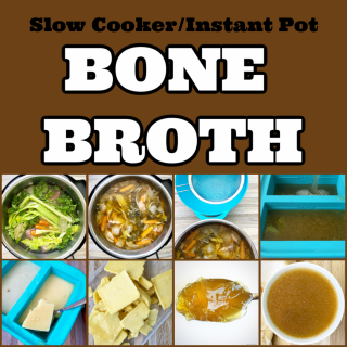 cover pic for How To Make Bone Broth In The Slow Cooker Or Instant Pot