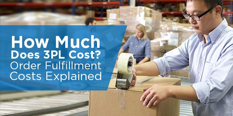 How Much Does Order Fulfillment Cost 3PL Costs Explained