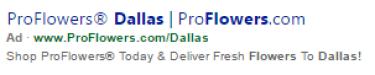 Bing Ads Weak Example