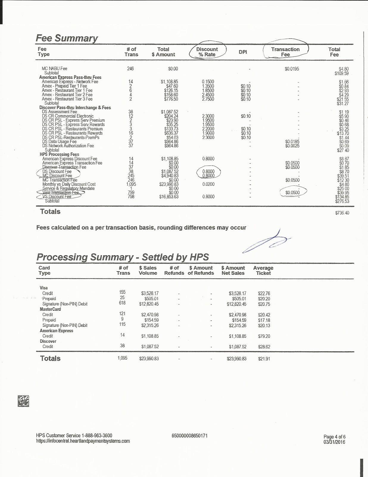 hight resolution of credit card processing fees understanding statements click to enlarge