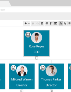 Orgweaver org chart example showing tools to add employees also best organizational software  for rh fitsmallbusiness