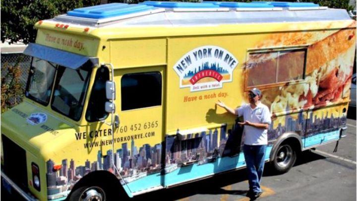 ejemplo de buen nombre de camión de comida