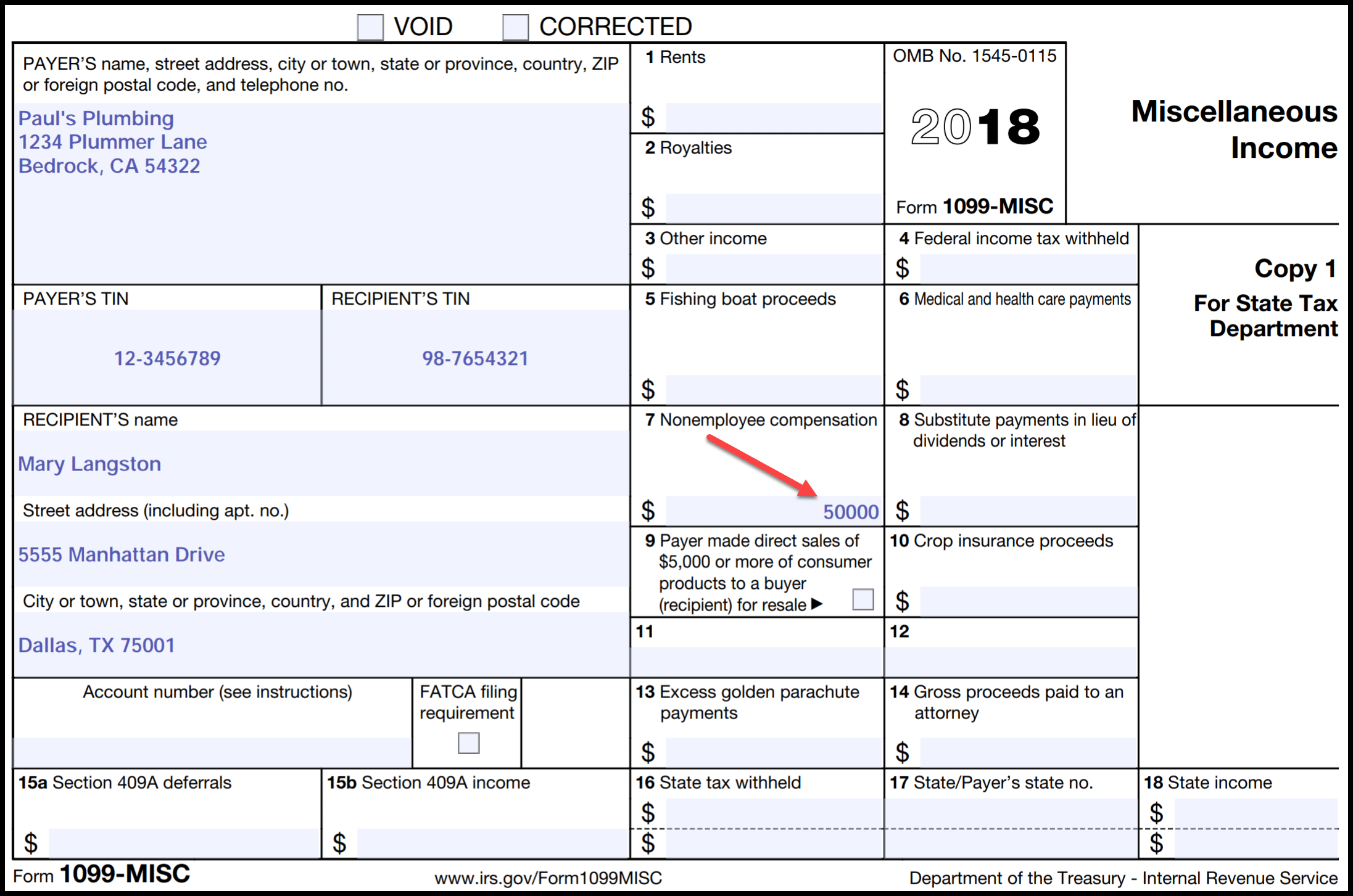 Irs Form Reporting For Small Business Owners