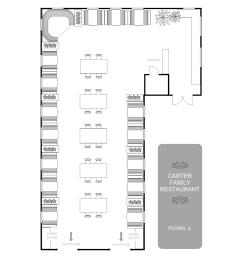 restaurant floor plan mixed seating areas [ 1000 x 1000 Pixel ]
