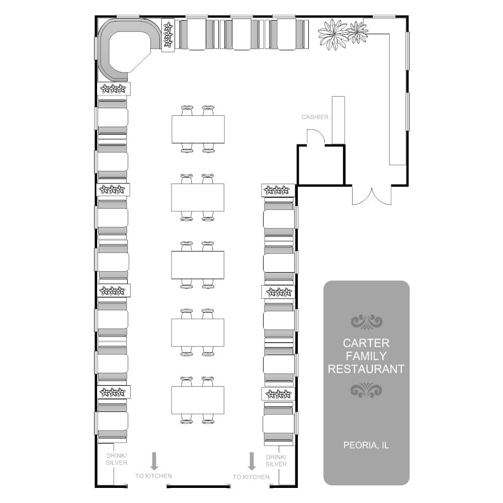medium resolution of restaurant floor plan mixed seating areas