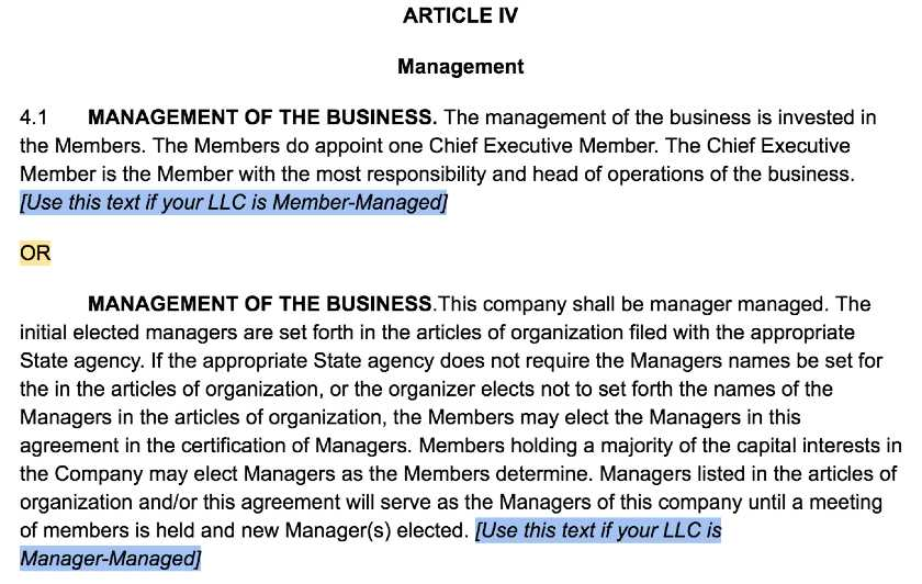 In consideration of the mutual promises contained in this agreement, and in order to establish procedures for operating the company, and intending to be legally bound by the terms and conditions set forth herein, the members hereby agree as follows. How To Create An Llc Operating Agreement Free Templates