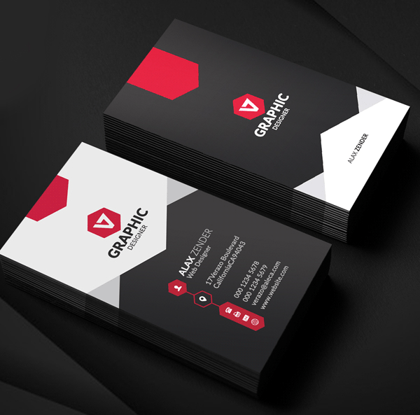 Top 28 Creative Examples of Graphic Designer Business Cards