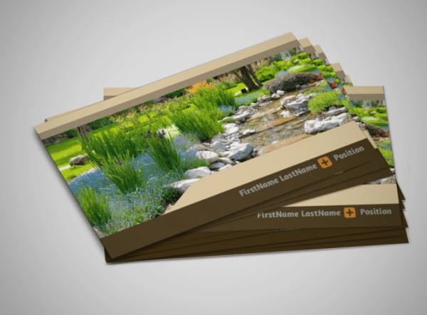 unique landscaping business