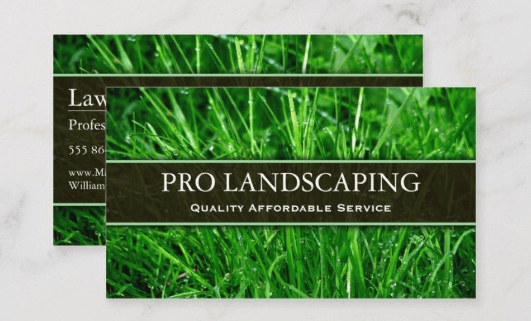 unique landscaping business