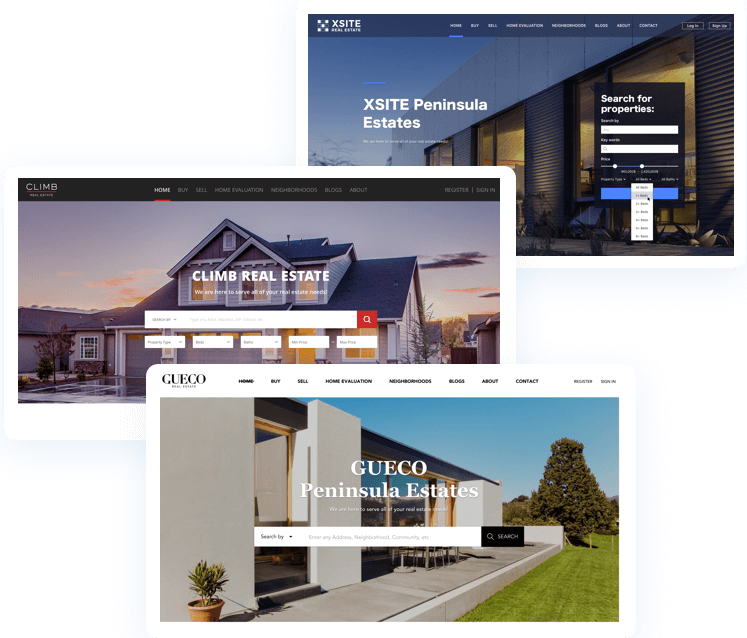 real estate website builder