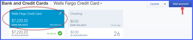 How To Reconcile Credit Card In Quickbooks | Applydocoument co