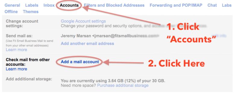 Come configurare l'email Bluehost con Gmail