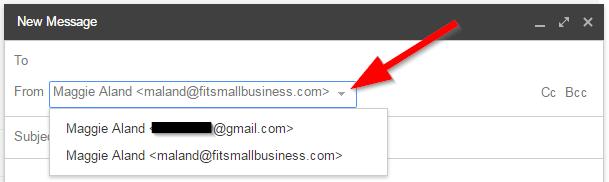 Passa da e-mail personalizzata Gmail a Bluehost