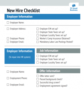 This new employee orientation checklist is downloadable in word format. How To Create A New Hire Checklist Free Downloadable Template