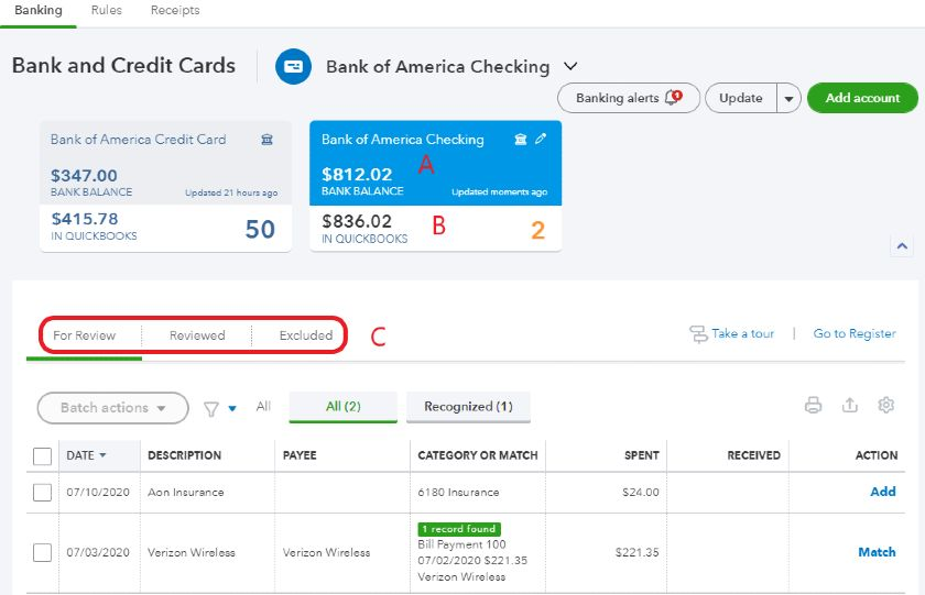 How To Manage Quickbooks Online Bank Feeds
