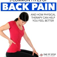 5 Types Of Low Back Pain And How Physical Therapy Can Help