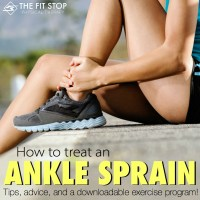 How to treat an ankle sprain - Best home exercises