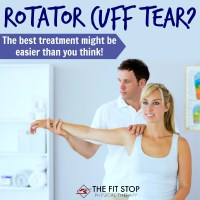 How to treat a rotator cuff tear